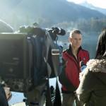 Martin Robson talks to TV journalists