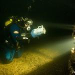 UW archaeologist Igor Galayda found a porcelain jar. America shipwreck